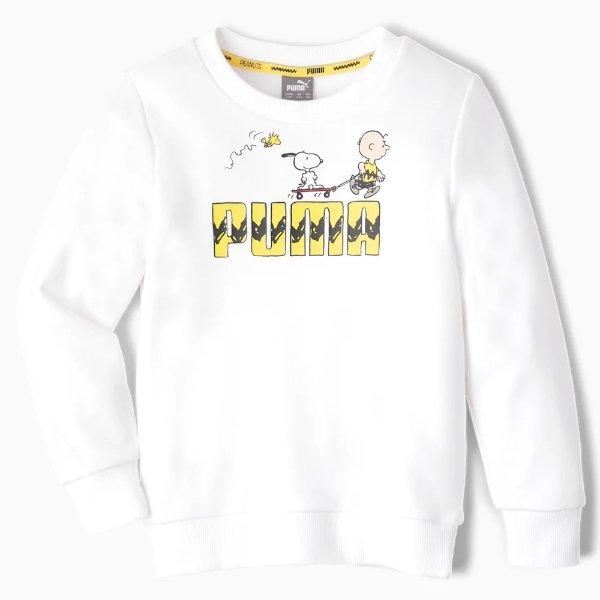 x PEANUTS 小童卫衣