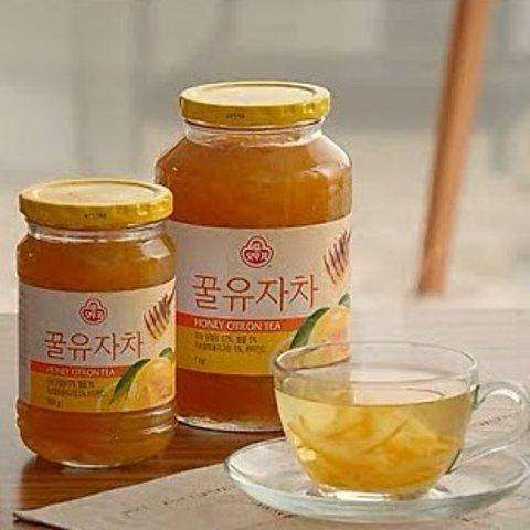 500g仅€11.99OTTOGI 韩国蜂蜜柚子茶、姜茶热卖 排毒养颜补充维他命