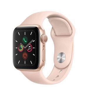 史低价:Apple Watch Series 5 GPS 苹果智能手表 44mm