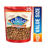 Blue Diamond Almonds 美国大杏仁 炭烧口味 25 Oz.