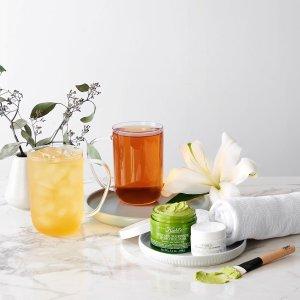 $8.98收水果茶DAVIDsTEA 花茶饮料热卖 甜蜜果茶推荐 $12收樱花中空杯