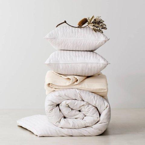3折起 防过敏枕$15/2只Tontine 品质床垫、枕芯、被芯热促