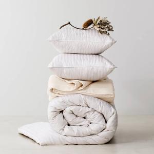 低至6折 精品鹅绒被直降$360Sheridan 新款床上用品热促 羊毛被、羽绒枕换季预备