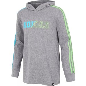 AdidasBoys' 3-Stripes Collegiate Hoodie