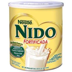 $27.67 父母补钙很重要Nestle NIDO 雀巢升级配方全脂罐装奶粉 3.52磅,两罐