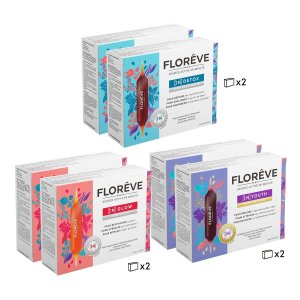 Floreve3 Month - [IN] DETOX /GLOW /YOUTH Skin Treatment