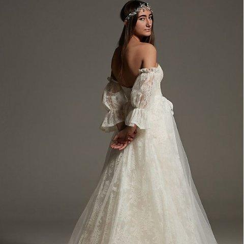 低至1折 绝美礼裙$29起David's Bridal 婚纱礼裙大促 White by Vera Wang封面款$419