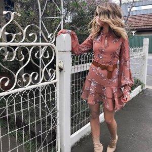 低至3.5折+立减$10 印花裙$49Bardot 澳洲快时尚品牌 SP平替蕾丝裙$49.96起