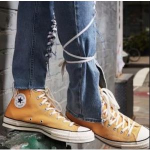 低至4折 史低€34收封面Converse 活力橙色系 橘子汽水味的帆布鞋 补点元气吧