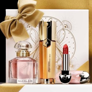 Up to $750 Gift Card+41-Piece GiftSaks Fifth Avenue Guerlain Beauty Event