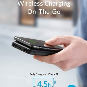 8.3折 €29.99(原价€35.99)Anker 10000mAh无线充电宝热卖 告别烦人数据线