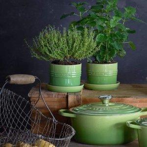 送酷彩陶瓷花盆 价值$30Le Creuset官网购买任意产品满$150