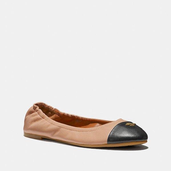 Bonnie 拼色芭蕾鞋
