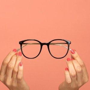 所有镜片7折 新人首单85折免邮Eyebuydirect 眼镜 给你十足的文艺感