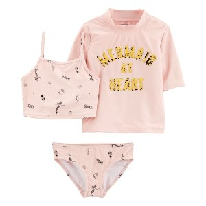 Carter's3-Piece Swimsuit & Rashguard Set