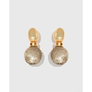 Lizzie FortunatoTwombly Earrings