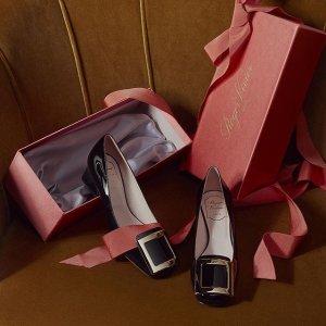 低至3折 £279收新款高跟鞋Roger Vivier 折扣区持续上新 优雅气质集一身