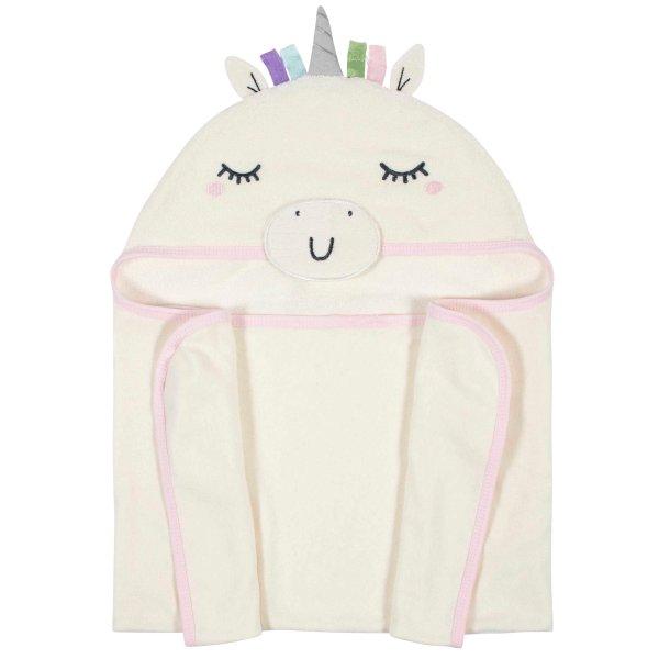 有机棉连帽浴巾