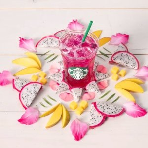 New Products on MenuMango Dragon Fruit Refresher on Sale