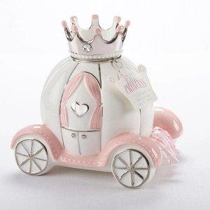 Baby AspenLittle Princess Carriage Porcelain Bank