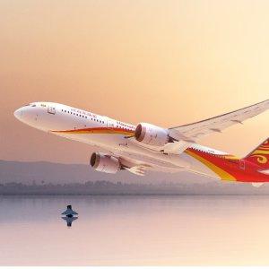 往返$374起 免费注册会员享特惠海南航空 洛杉矶--成都/西安/重庆/长沙 往返机票低价