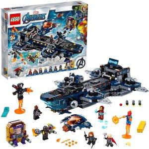 $99(原价$199)LEGO乐高 76153 复仇者联盟 天空母舰