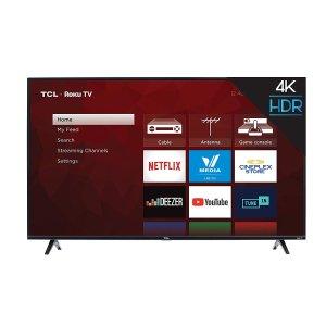 $449.99 (原价$549.99)史低价:TCL 55S425-CA 55英寸4K超高清智能电视(2019版)