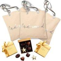 Godiva 伴娘金装巧克力礼盒+手提包4件套