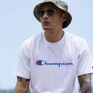 4.9折 $23.69(官网原价$48.33)Champion 经典爆款Logo Tee M码 多色可选