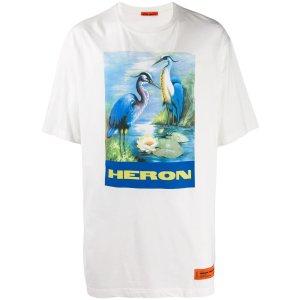 Heron Prestonlogo graphic T-shirt
