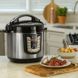 $49.99Gourmia - 8-Quart Pressure Cooker - Stainless steel