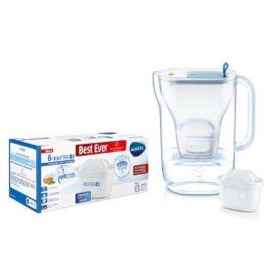$73.5(原价$110.25)Brita Maxtra+ 净水壶 配6个替换滤芯