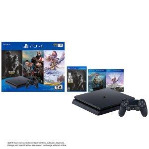 $199黑五开抢:PlayStation 4 Slim 1TB + 三款游戏套装
