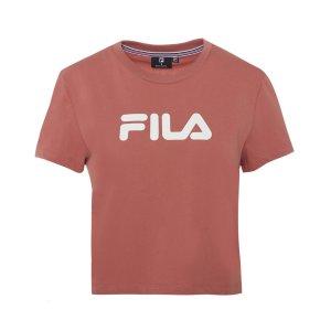 FilaWomen's Crop Set Tee / T-Shirt / Tshirt - Rose Clay