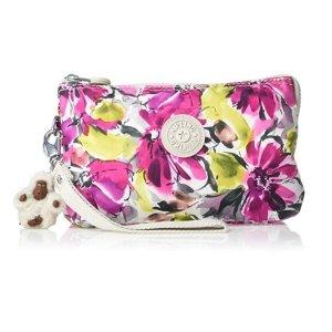 现价$9(原价$42) 大号逆天价:Kipling 印花双隔层化妆包、收纳包