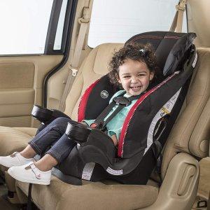 $80(原价$119)包邮史低价:Evenflo Chase Lx 加高儿童安全座椅
