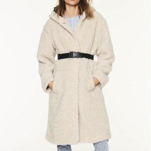BA&SHFILIP系带大衣
