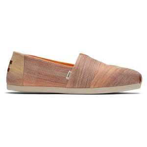 Toms棕色渐变渔夫鞋