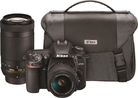 Nikon D7500  18-55mm 70-300mm  双镜头套机