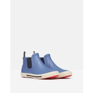 Joules儿童纯色低帮雨靴