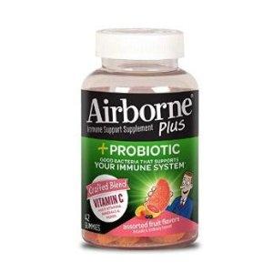 Airborne Plus Probiotic Gummies, 42 count