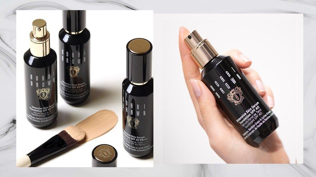 Bobbi Brown虫草粉底液︱磨皮养肤,水润持妆,打造夏日水光肌!