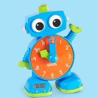 Amazon Learning Resources Tock The Learning Clock, Educational Talking Clock, Ages 3+