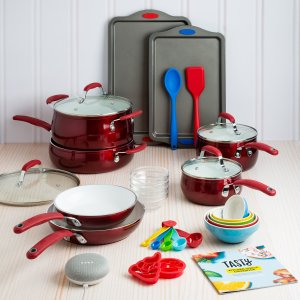 Coming Soon: $99 Tasty 30 Piece Heavyweight Non-Stick Ceramic Cookware Set