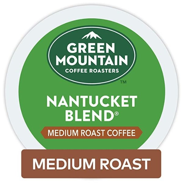 Green Mountain 中焙K cup 咖啡胶囊48颗