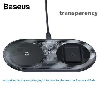 $20.59 包邮Baseus 15W 2合1 无线充电器