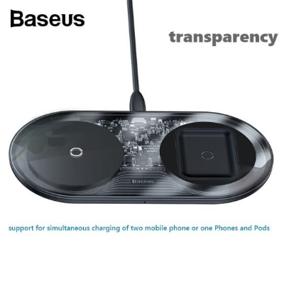 $20.59Baseus 15W 2-in-1 Wireless Charger