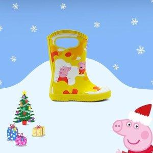低至5折+新用户正价8.5折Hunter 儿童萌趣雨靴、配件 可可爱爱踩水去 彼得兔款$53