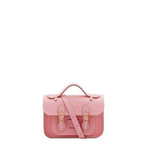 樱花粉色剑桥包