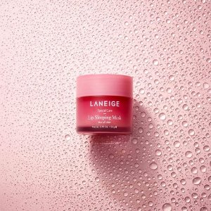 Laneige夜间保湿修护唇膜